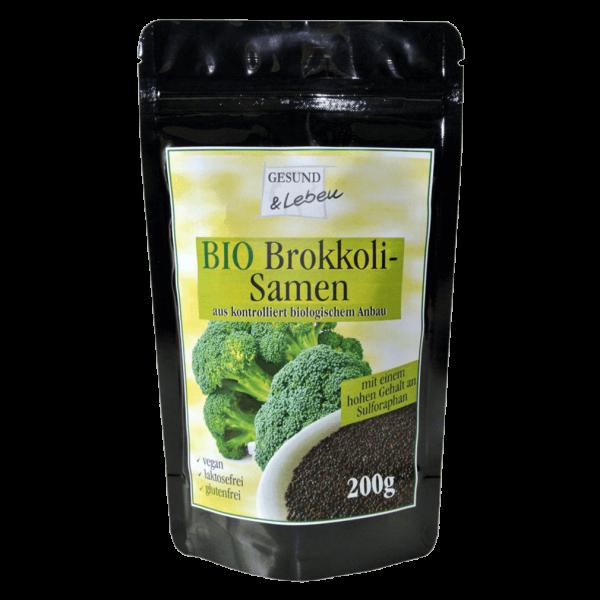 Gesund & Leben Bio Brokkolisamen ganz