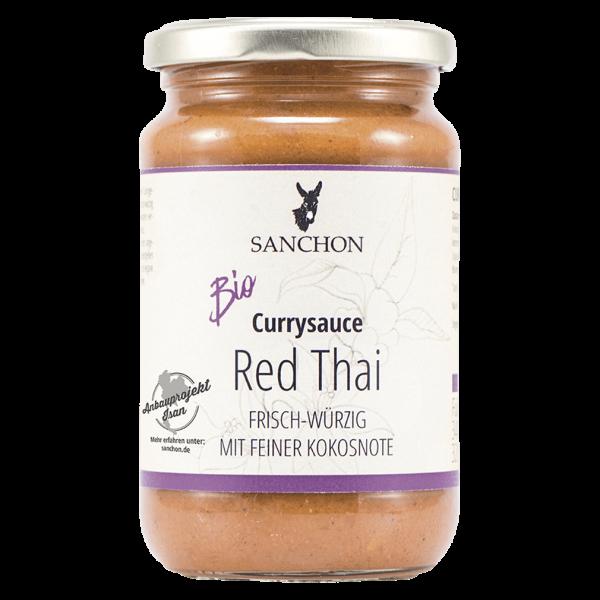 Sanchon Bio Red Thai Currysauce
