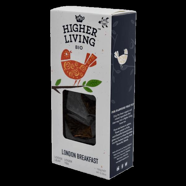 Higher Living Bio London Breakfast, lose