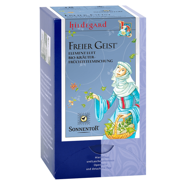 Sonnentor Bio Hildegard Freier Geist Tee, 18 Btl