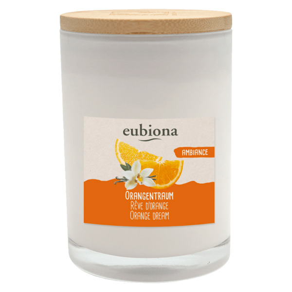Eubiona Duftkerze Orangentraum