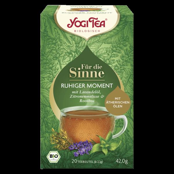 Yogi Tea Bio Für die Sinne Ruhiger Moment Tee