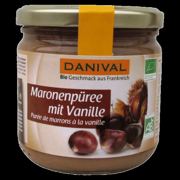 Danival Bio Maronenpüree mit Vanille