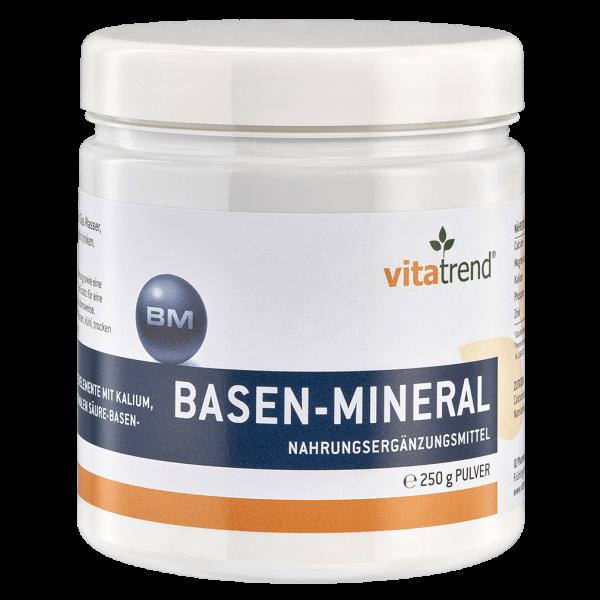 Basen-Mineral Pulver