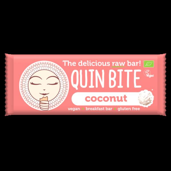 Quin Bite Bio Kokosnuss Rohkost Riegel
