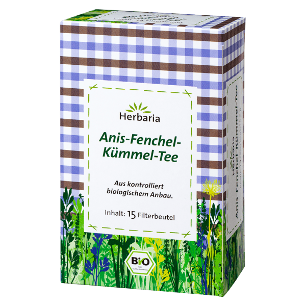 Herbaria Anis-Fenchel-Kümmel-Tee