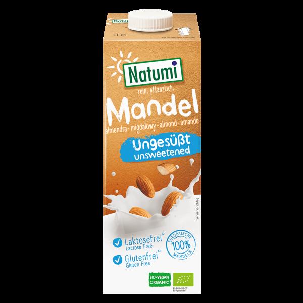 Natumi Bio Mandel Drink ungesüßt, 1l
