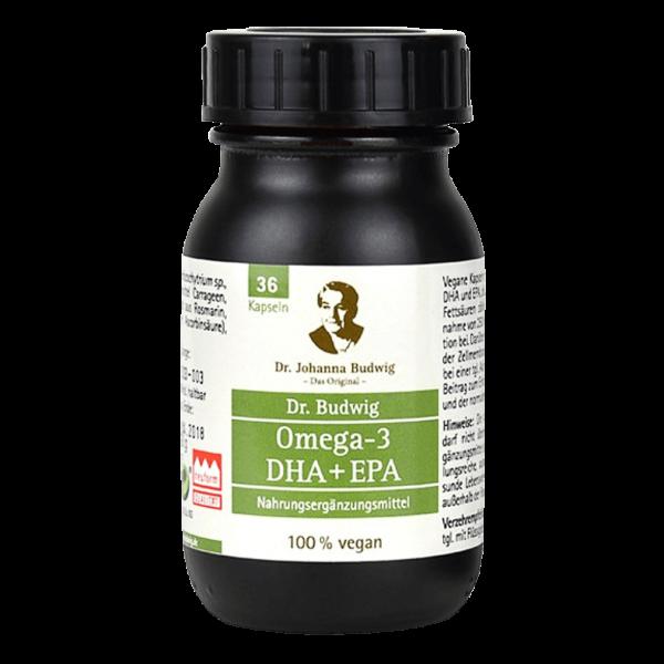 Dr. Budwig Omega-3 DHA+EPA Kapseln
