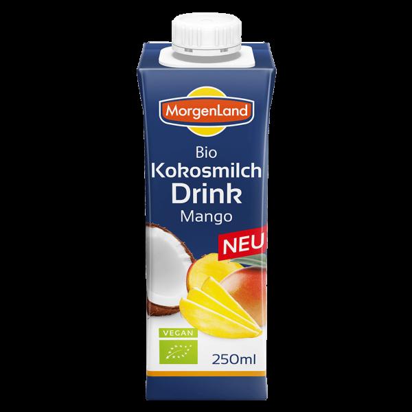 MorgenLand Bio Kokosmilch Drink Mango, 250 ml