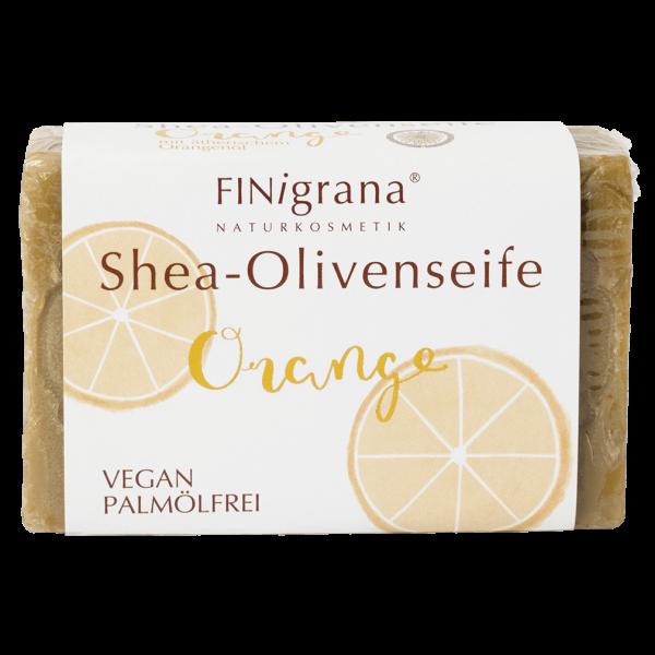 Finigrana Naturkosmetik Alepposeife Olive, Bio Shea & Orange