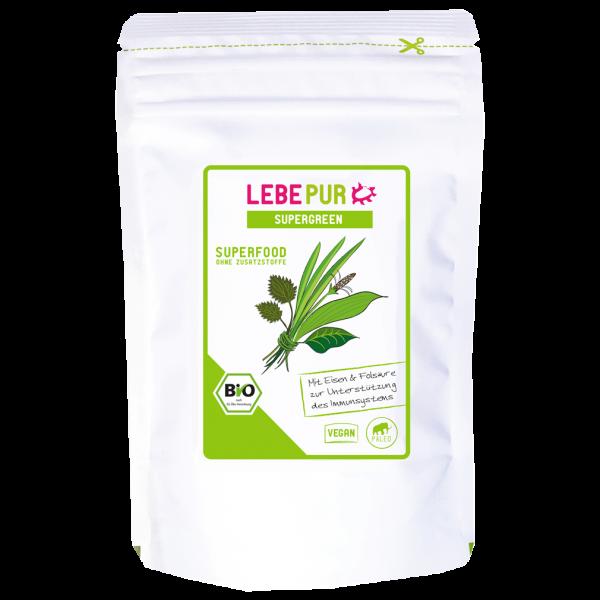 Lebepur  Bio Supergreen Pulver