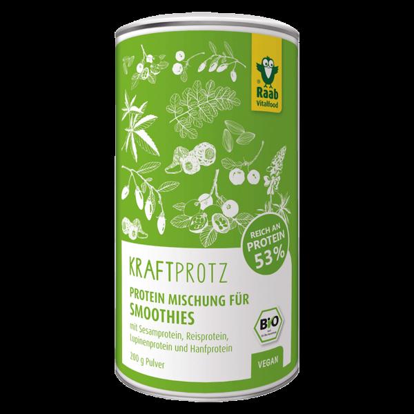 Raab Vitalfood Bio Proteinmischung Kraftprotz