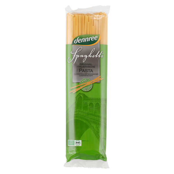 dennree Bio Hartweizen Spaghetti