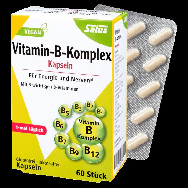 Salus Vitamin-B-Komplex Kapseln, 60 Stück