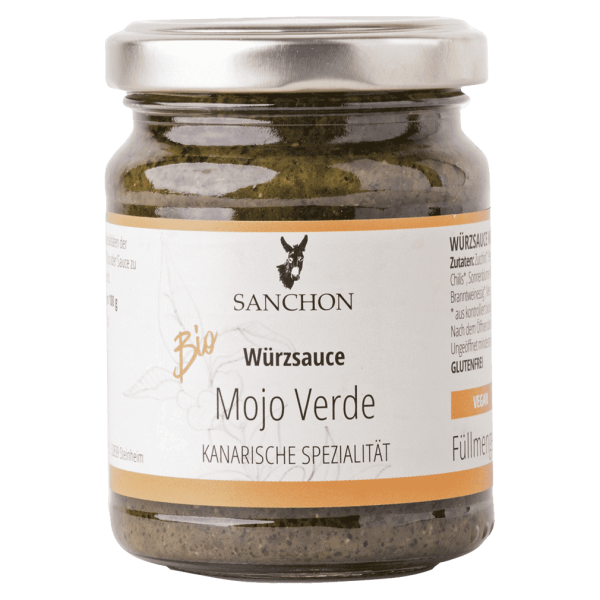 Sanchon Bio Mojo Verde Würzsauce