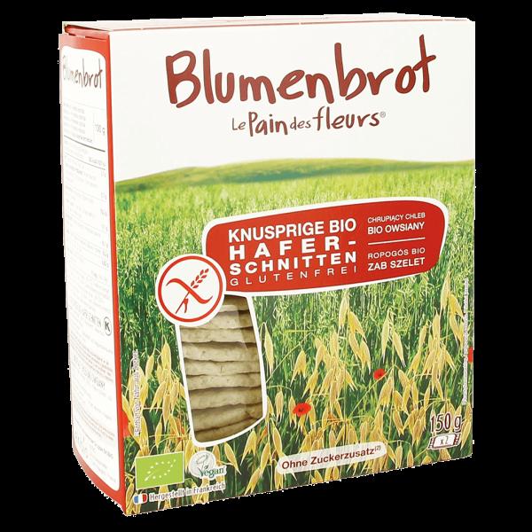 Blumenbrot Bio Knusprige Hafer-Schnitten glutenfrei