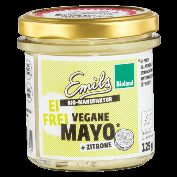 Emils Bio Vegane Mayo + Zitrone, 125g