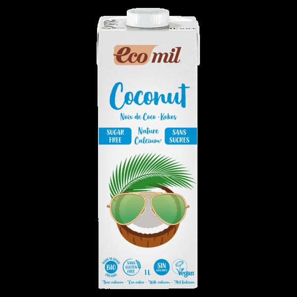 EcoMil Bio Kokos Drink Nature Calcium zuckerfrei