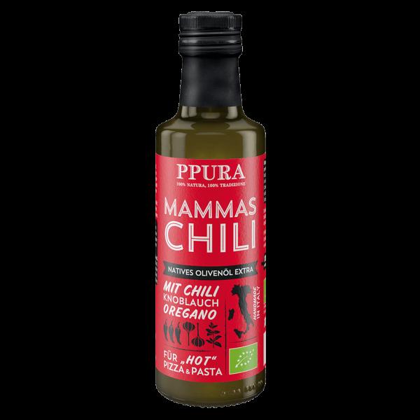 PPura Bio Olivenöl Mammas Chili