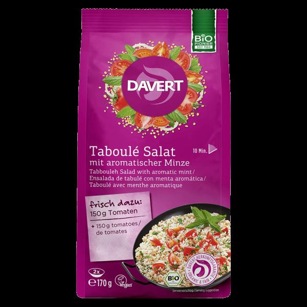 Davert Bio Taboulé Salat mit aromatischer Minze