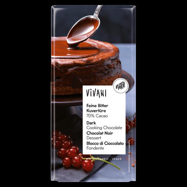 Vivani Bio Feine Bitter Kuvertüre 70% Cacao