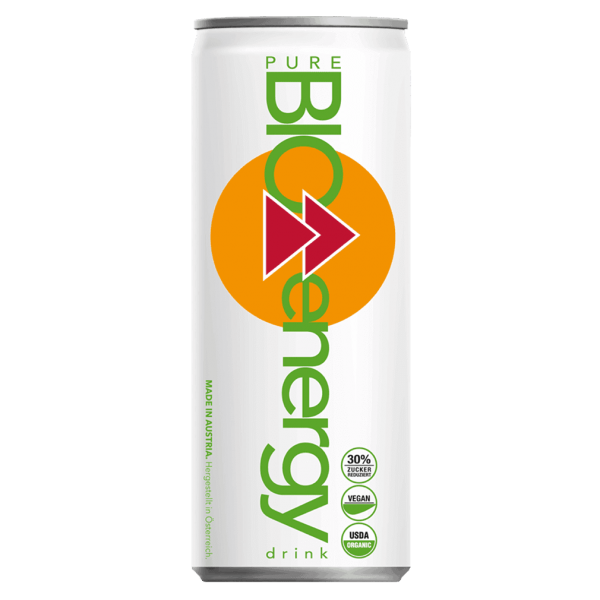 Pure Bio Bio energy Orange, 330 ml
