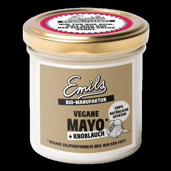 Emils Bio Vegane Mayo + Knoblauch, 125g