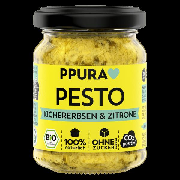 PPura Bio Pesto Kichererbsen und Zitrone