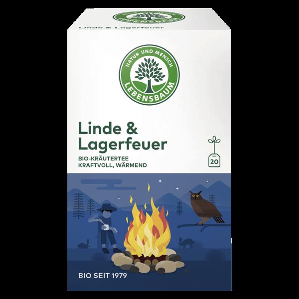 Lebensbaum Bio Linde & Lagerfeuer Tee, 30g