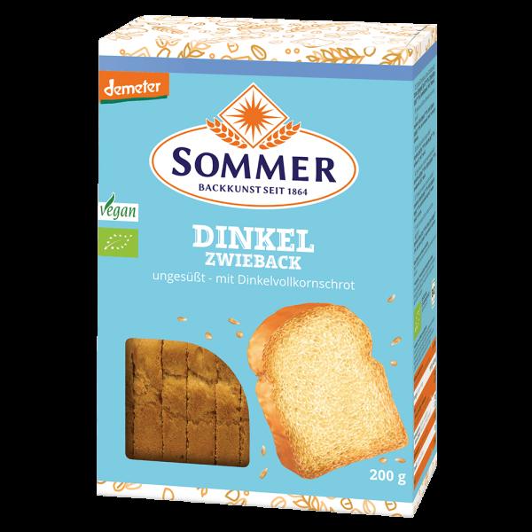 Sommer Bio Dinkel Zwieback