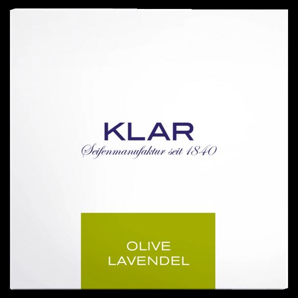Klar Seifen Haar- & Körperseife Olive Lavendel