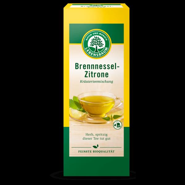 Lebensbaum Bio Brennnessel Zitrone Kräutertee, 20Btl.