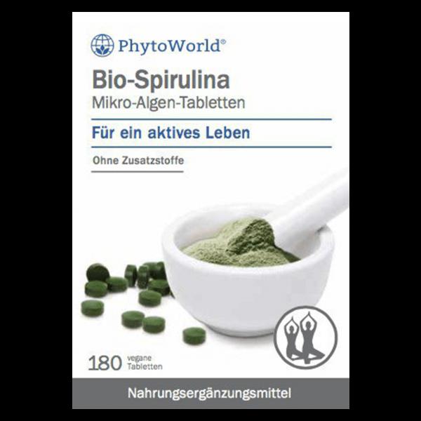 Dr.Dünner Bio-Spirulina Mikro-Algen-Tabletten, 180 Stück