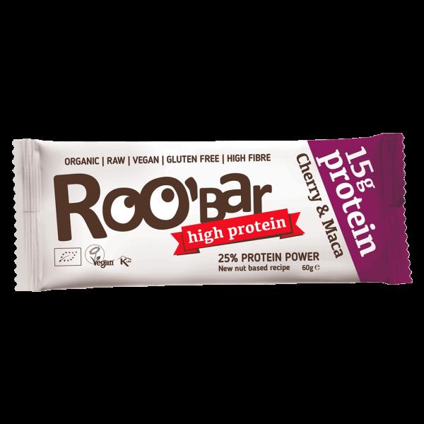 Roobar Bio Protein Cherry & Maca Riegel