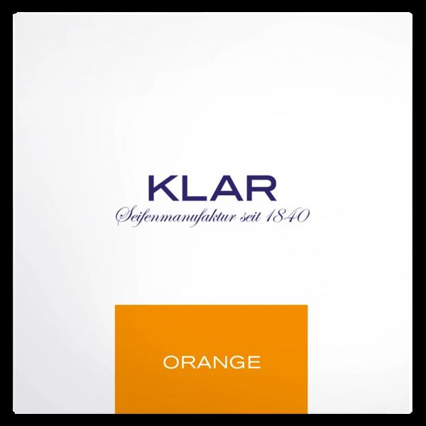 Klar Seifen Badeseife Orange