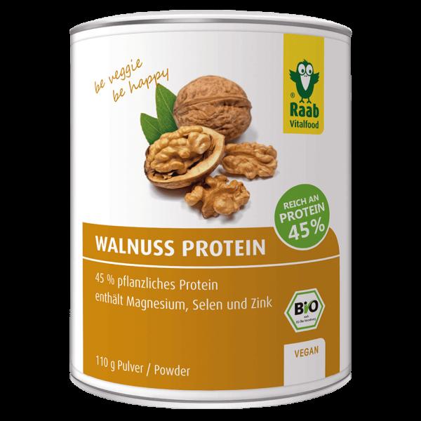 Raab Vitalfood Bio Walnuss Protein Pulver, 420g