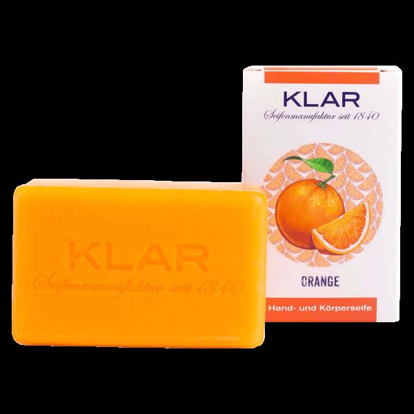 Klar Seifen Orangen-Seife