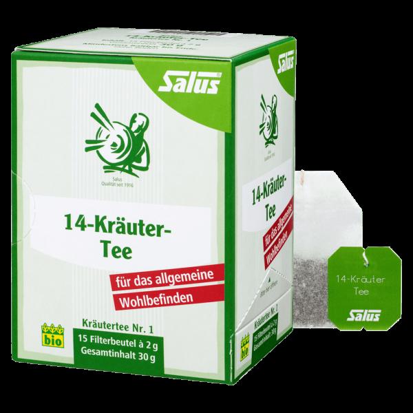 Salus Bio 14-Kräuter-Tee