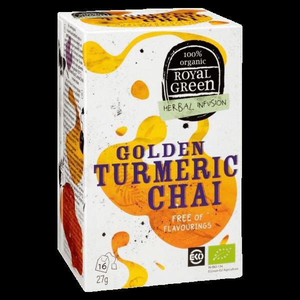 Royal Green Bio Golden Turmeric Chai