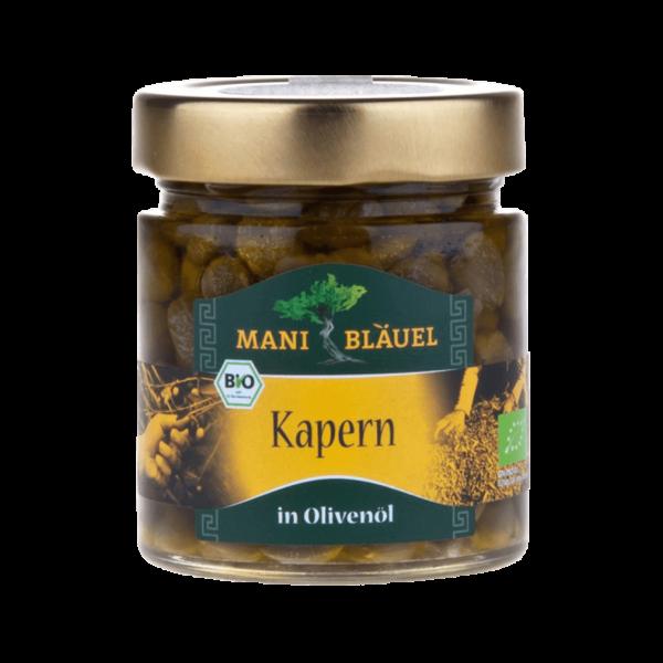 Mani Bio Kapern in Olivenöl