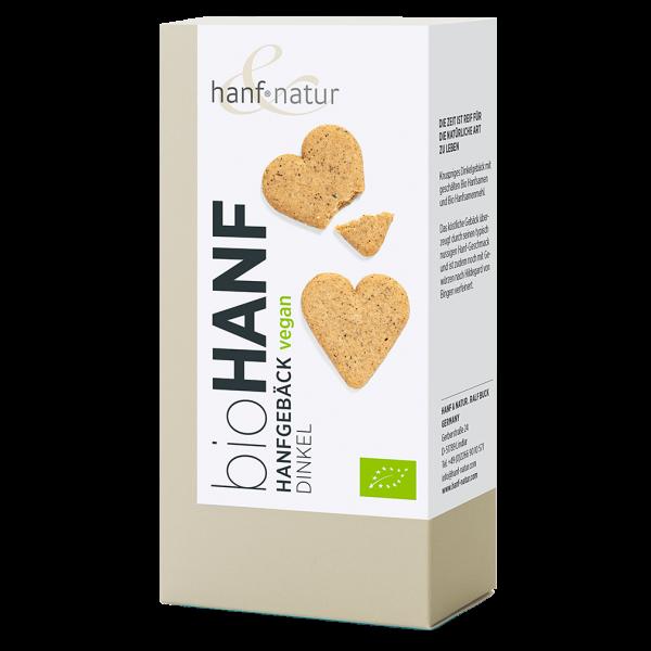 hanf natur Bio Hanf-Dinkel-Kekse, 100g