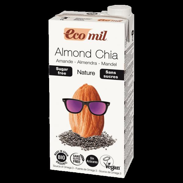 EcoMil Mandel Chia Drink Nature