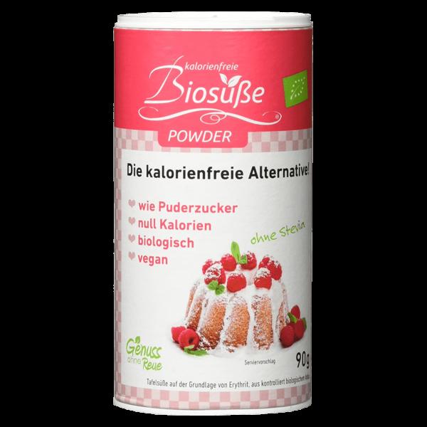 Genuss ohne Reue Bio kalorienfreier Puderzucker