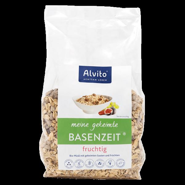 Alvito Bio BasenZeit Müsli gekeimt fruchtig