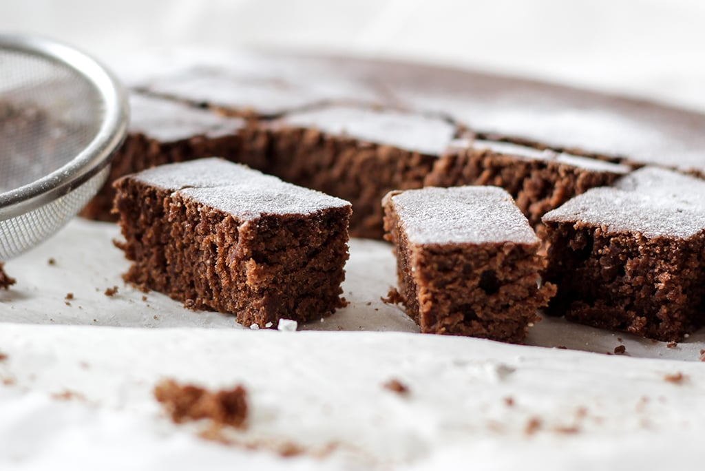 Sanjas vegane Brownies