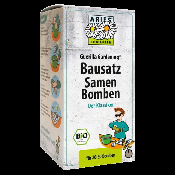 Aries Bio Bausatz Samenbomben