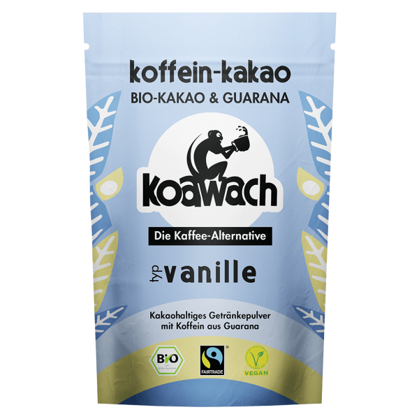 koawach Bio Trinkschokolade Vanille