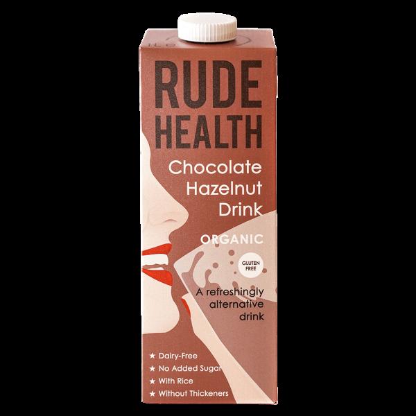 Rude Health Bio Chocolate Hazelnut Drink, 1l