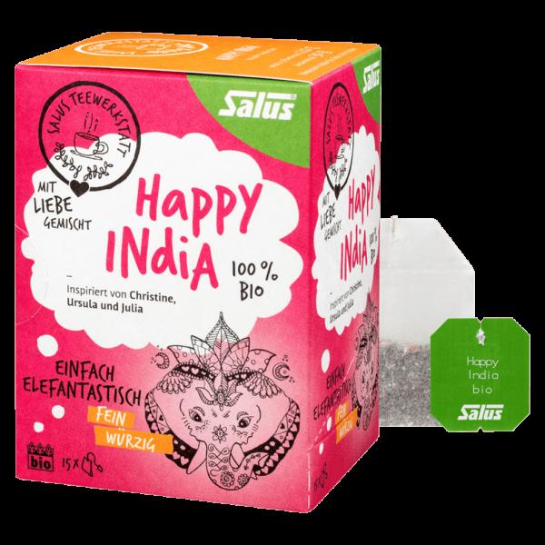 Salus Bio Happy India Tee