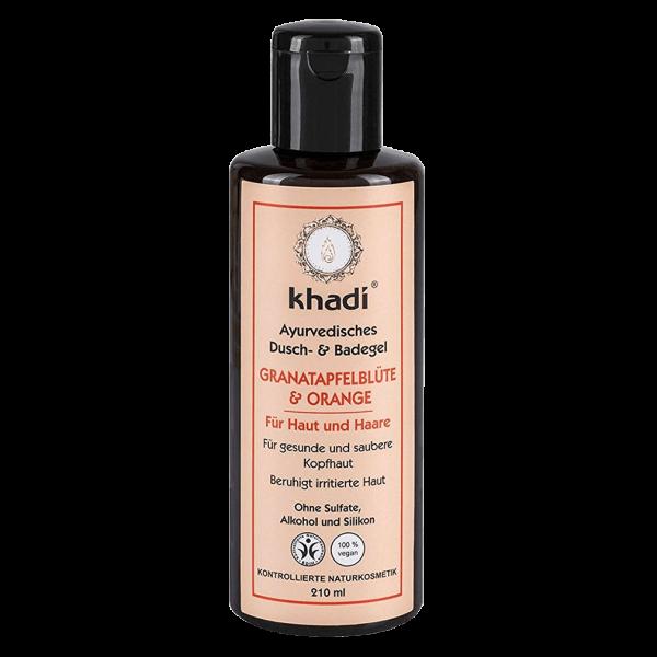 Khadi Dusch- & Badegel Granatapfelblüte & Orange